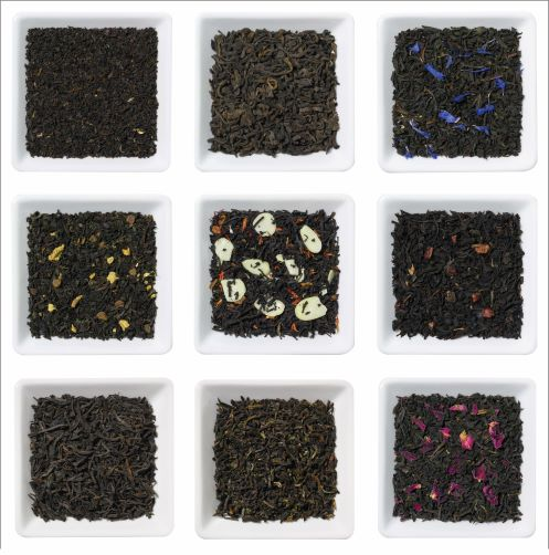 Black Tea Sample Box