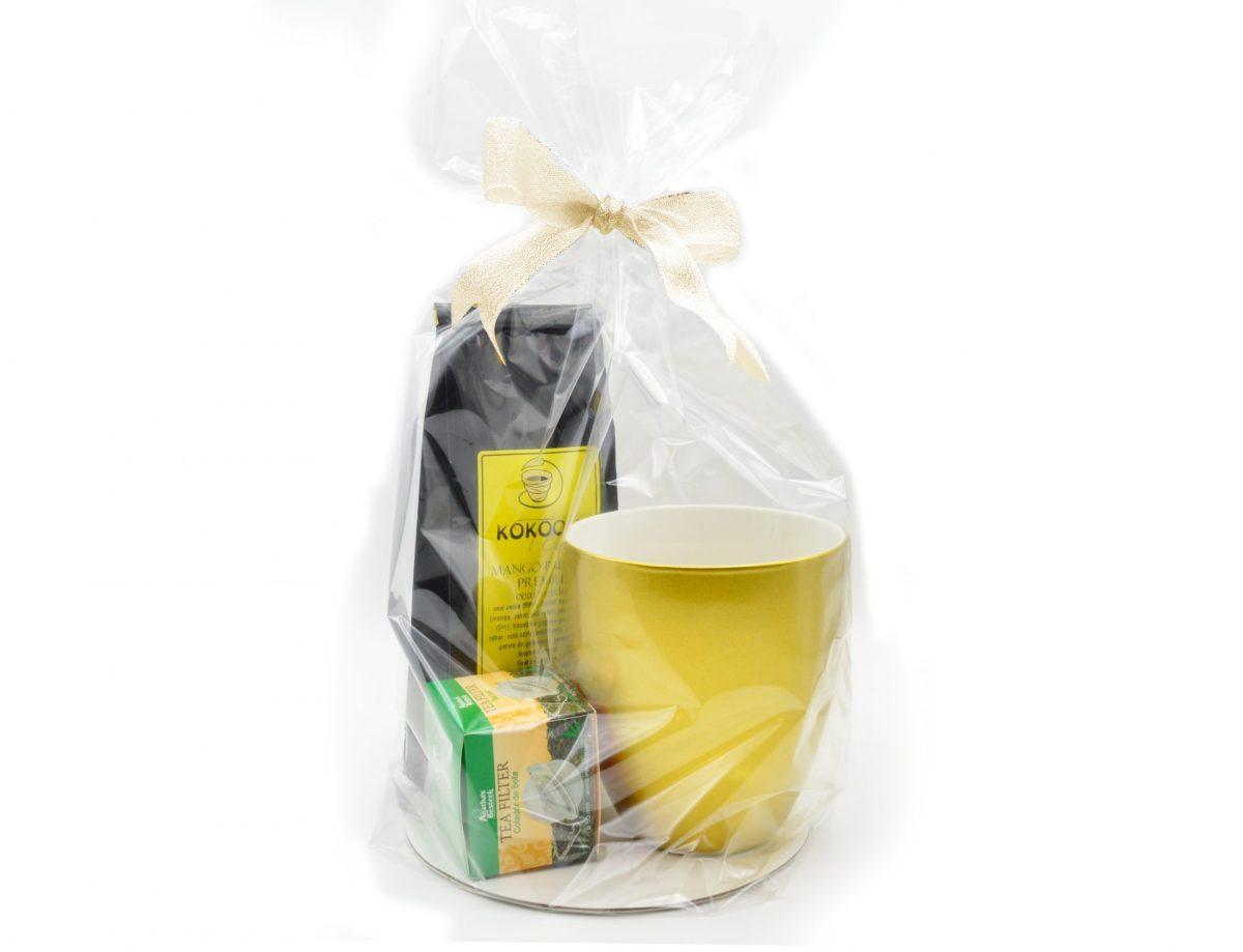 Cadou Pentru Ea format din cana, ceai si filtru