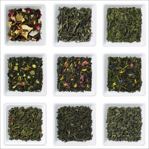Green and White Tea Sample Box